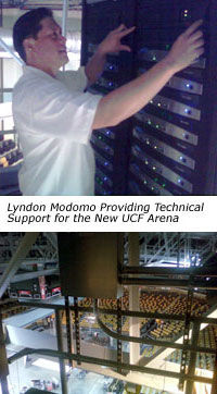 Technology Services for the UCF Arena in Orlando Florida